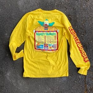 Vans X The Simpsons Krusty Burger Sold Out Tee